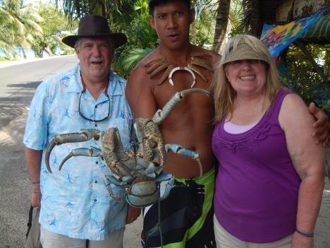 Huge coconut crab